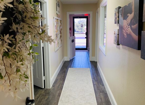Birth Center Hallway